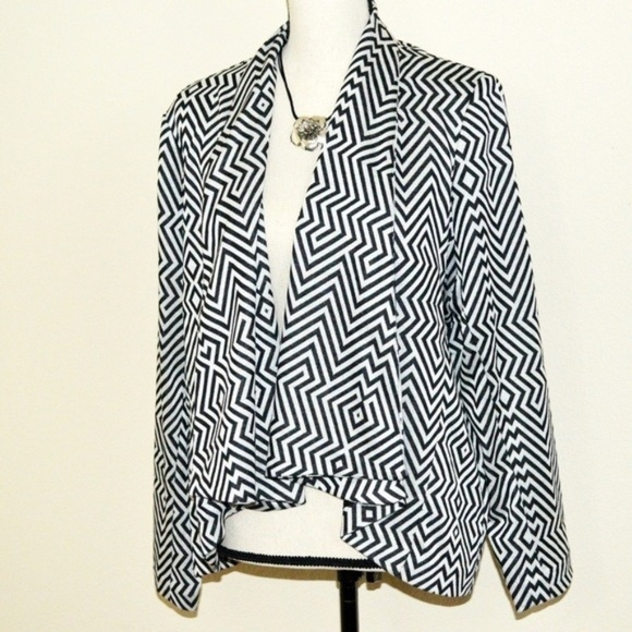 NY Collection Jackets & Blazers - My Collection Plus Size Black Jacket Size 2X